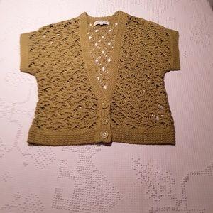 jones new york sport short sleeve knit top